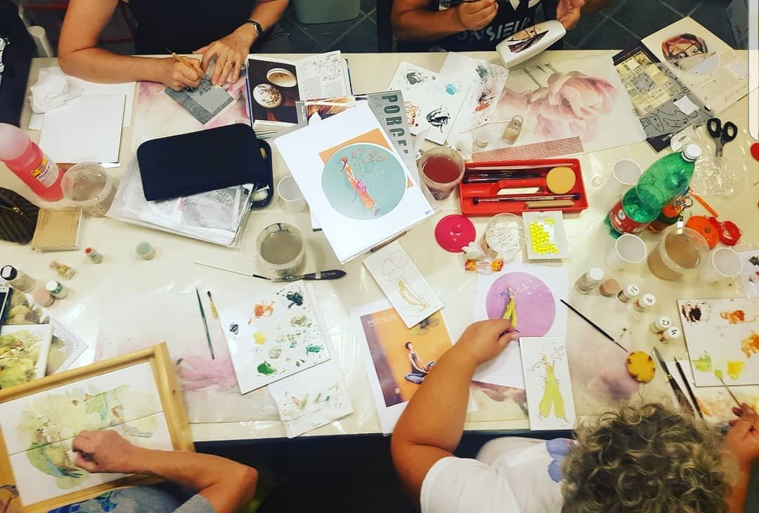 Corso Pittura su Porcellana